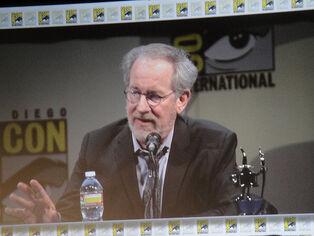 San Diego Comic-Con 2011 - the Adventures of Tin Tin panel - Steven Spielberg
