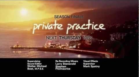 Private Practice 4x22 - PROMO - ..