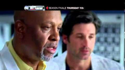 Grey's Anatomy 7x22 Unaccompanied Minor Season Finale Promo