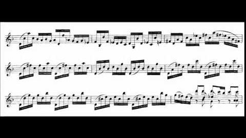 """""""Sonata No. 1 in G minor, BWV 1001"""" - Johann Sebastian Bach"""