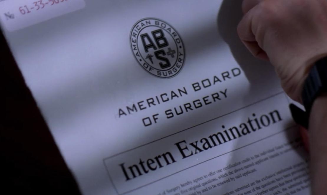 board certification anatomy grey wikia