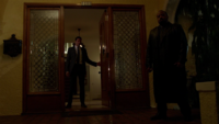 520-Renard greets Adalind at Black Claw mansion