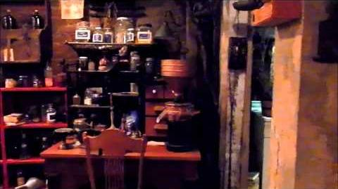 Grimm - On Set in the Spice Shop