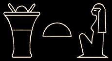 Bastet Hieroglyphs