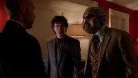 222-Baron Samedi spits on Lucas