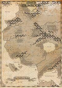 Legend of Grimrock World Map