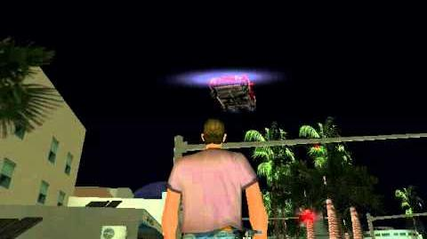 Gta vice city unknown flying ghost car