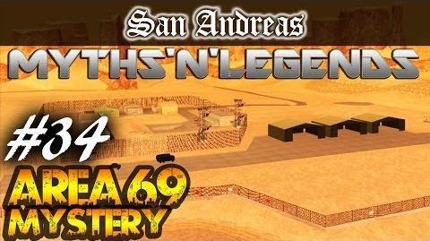 GTA San Andreas Myths & Legends Area 69 Mysteries