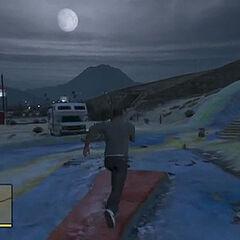 Full Moon in GTA V