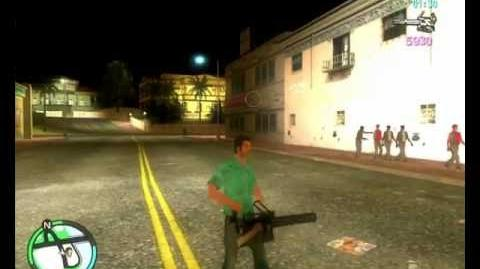 GTA Vice City Leatherface -CLEO- Mod by MW