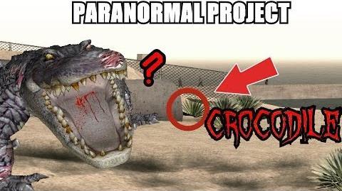 GTA San Andreas Myths . Crocodile - PARANORMAL PROJECT 53