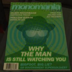 Bigfoot magazine.