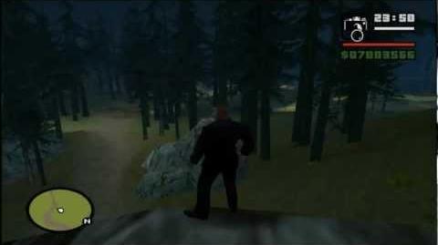 Grand Theft Auto San Andreas Myth Investigation Myth 1 Slender-Man REMAKE