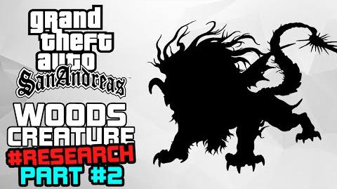 GTA SA M&L The Woods Creature BACK O' BEYOND Clear Weather