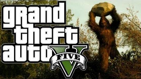 GTA V Myths & Legends - Bigfoot The Truth HD