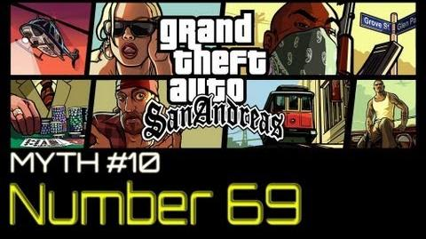 GTA San Andreas Myths & Legends - Number 69 HD