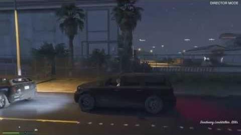 Grand Theft Auto V Ghost Car?