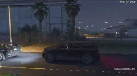 Grand Theft Auto V Ghost Car?