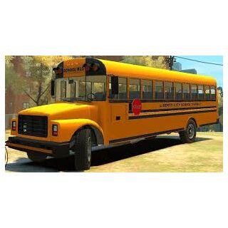 A School Bus mod for GTA 4