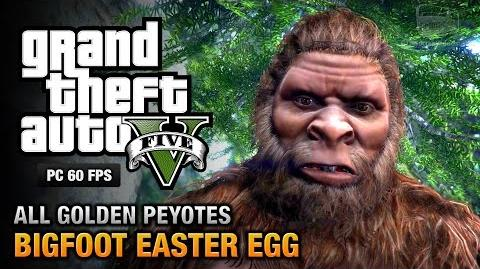 GTA 5 - Bigfoot Victims and all Golden Peyote Plants