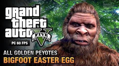 GTA 5 - Bigfoot Victims and all Golden Peyote Plants