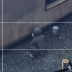 Hooded pedestrian in GTA V