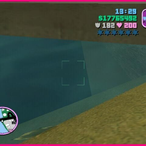 Rumored hideout of the Sea Monster.