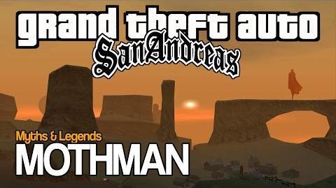 GTA SA Myths & Legends - MOTHMAN