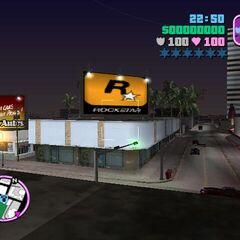 Rockstar billboard at Little Havana