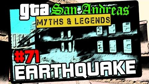 GTA San Andreas Myths & Legends Myth 71 San Andreas Earthquake