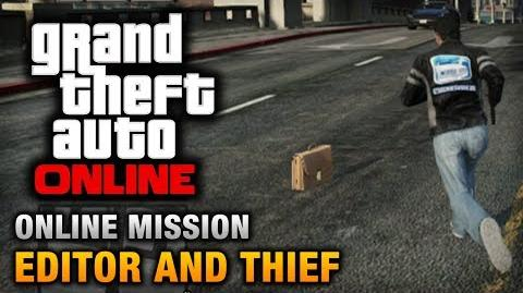 GTA Online - Mission - Editor and Thief Hard Difficulty