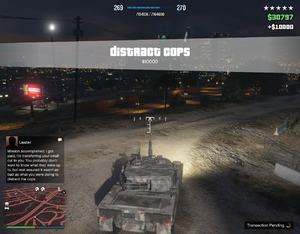 Distract Cops GTAO Complete