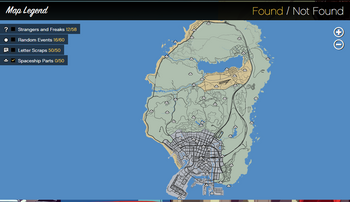 Spaceship Parts GTAVe Official Map