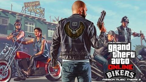 Grand Theft Auto GTA V 5 Online Bikers - Mission Music Theme 2