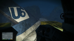 Wreck Airliner Paleto GTAV Tail Sub View