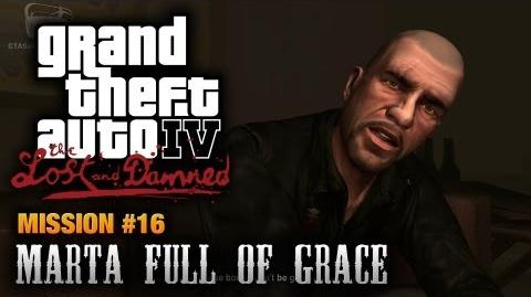 GTA The Lost and Damned - Mission 16 - Marta Full of Grace (1080p)