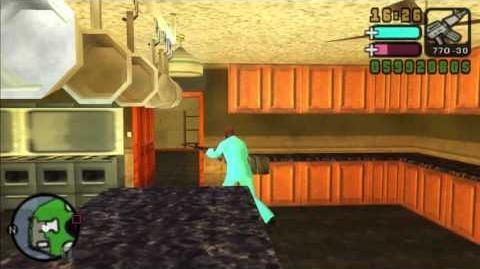 Visiting Mendez Mansion in GTA VCS Visitando la Mansion Mendez de GTA VCS