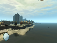 Bohan Beach GTAIV View From East