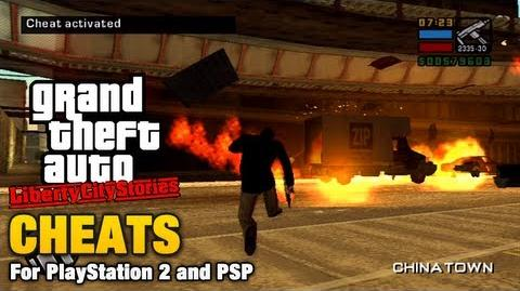 GTA Liberty City Stories Cheats