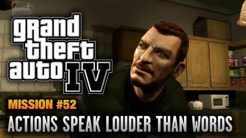 GTA 4 - Mission 52 - Actions Speak Louder Than Words (1080p)