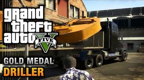 GTA 5 - Mission 77 - Driller 100% Gold Medal Walkthrough