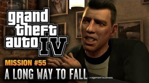 GTA 4 - Mission 55 - A Long Way to Fall (1080p)