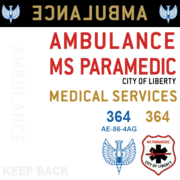 Ambulance decals