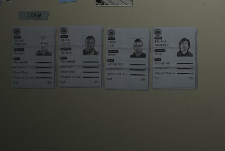 Heist Crew Members | GTA Wiki | FANDOM powered by Wikia