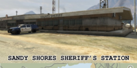 Sandy Shores Sheriff's Station