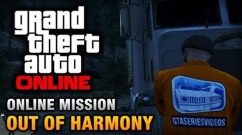 GTA Online - Mission - Out of Harmony Hard Difficulty