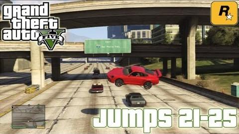 GTA5 Stunt Jumps 21-25 (Tutorial) Grand Theft Auto V PS3 Xbox 360 ᴴᴰ