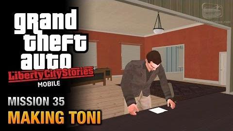 GTA Liberty City Stories Mobile - Mission 35 - Making Toni