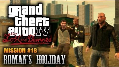 GTA The Lost and Damned - Mission 18 - Roman's Holiday (1080p)