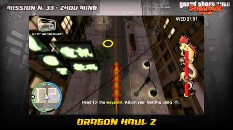 GTA Chinatown Wars - Walkthrough - Mission 33 - Dragon Haul Z